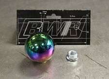 Blackworks Racing BWR 10x1.25 Steel Weighted Ball Style Shift Knob Neo Chrome
