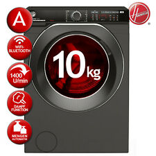 Waschmaschine Frontlader EEK: A 10kg 1400 U/min HOOVER HWPDQ410AMBCR/-S