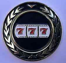 NEW 777 Jackpot Vegas Pocket Coin With removable Golf Ball Marker - See Pics