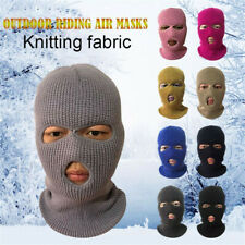Army Tactical Mask 2/3 Hole Full Face Mask Ski Mask Winter Cap Balaclava Hood