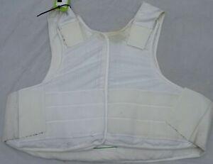 Meggitt White Covert Body Armour Bullet Proof Stab Vest For Security Grade B