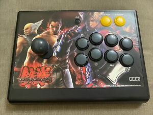 PS3 HORI TEKKEN 6 WIRELESS FIGHTING/ARCADE STICK USB NOT INCLUDED.UNTESTED