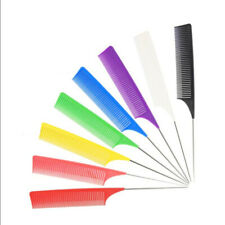 Plastic Heat-resistant Fine Weave Highlighting Foiling Hair Comb Brush Combs