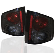 1994-2004 CHEVY S10 GMC SONOMA/1996-2000 HOMBRE PICKUP SMOKE TAIL LIGHT LAMP L+R