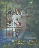 Tuvalu 2000 SG920a South Pacific Butterflies sheetlet MNH