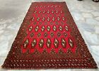 Authentic Hand Knotted Afghan Balouch Wool Area Rug 4 x 2 Ft (1479 HMN)