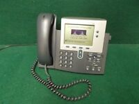 Cisco IP Phone 7900 Series 7940 VOIP 2-Button Business Phone CP-7940G (LOT OF 5)