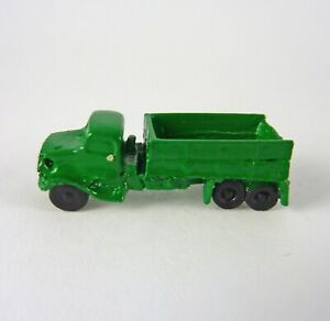 Dollhouse Miniature Artisan GREEN Toy Truck, 2913