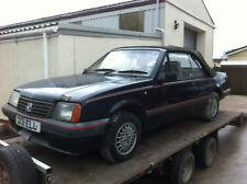 Barn Find Vauxhall CAVLIER 1.8 en 1986 D Reg