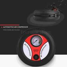 12V Portable Air Compressor Wheel 260psi Tyre Inflator Pump Auto Car Cigarette