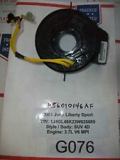 ✔GPU 2003 JEEP LIBERTY SPORT CLOCK SPRING REEL CABLE SRS  56010146AF  # G076**