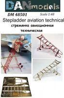 Dan Models 48501 Stepladder Aviation Technical #1 Scale New in Box 1/48 kit