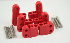 New Red Ignition Lead Wire Separators with Vertical Mounts Suit 7-9mm 28-211