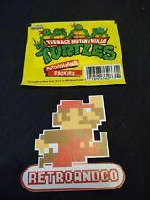 autocollants stickers teenage mutant ninja tortue ninja neuf vintage
