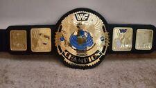 WWF Attitude Era BIG EAGLE World Heavyweight Championship Belt with WOODEN CASE