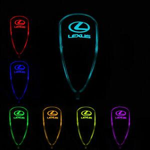 Auto Gear Shift Knob LED Light Multi Color Touch Activated Sensor For LEXUS