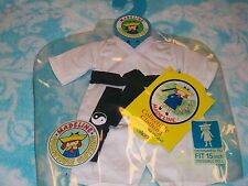 "Madeline 15"" Dressable Doll KARATE Outfit Collectible NWT"
