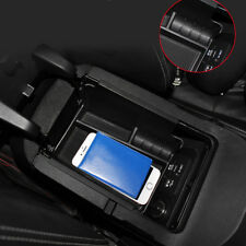 for Ford Mustang 2015-2017 Accessories Armrest Console Central slot storage Box