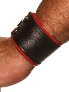 Colt Studio Lederarmband Leder Armband Rot Herren Writs Strap Leather