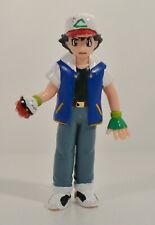 "1998 Ash Ketchum 4.5"" Tomy PVC Action Figure Nintendo Pokemon Trainer"
