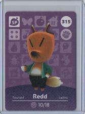 Redd #315 Animal Crossing Amiibo Series 4 Card RARE Nintendo Fox