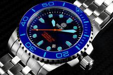 Deep Blue Watch Diver Pro 1000M Automatic Ceramic Bezel - Blue Dial