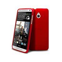 Coque Pour HTC One mini (M4) Semi Rigide Extra Fine mat/brillant Rouge