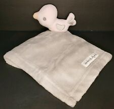 Blankets & Beyond Bird Lovey Gray and Pink Chick Plush Security Blanket 2015