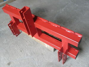 Gabelträger Palettengabel 1200x407mm  Dreipunktaufhängung Euro-Norm o Gabeln