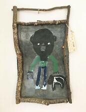 "James A. ""Buddy"" Snipes - Folk Art / Outsider Art Painting on Salvaged Tin"