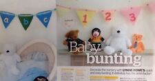 Baby Bunting 123 & ABC Knitting Pattern
