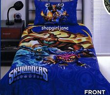 Skylanders - Fizzy Frenzy Pop Fizz - Single/Twin Bed Quilt Doona Duvet Cover Set