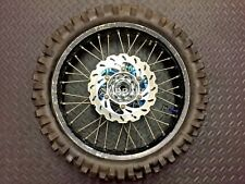 2007 YAMAHA YZ250F YZF250 REAR WHEEL WITH TALON HUB & SPOKES