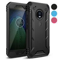 Poetic Revolution Case Built-In Screen Protector for Motorola Moto G5 Plus