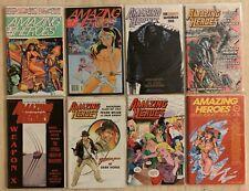 AMAZING HEROES 164 165 185 186 188 189 190 + 2 SWIMSUIT SPECIALS! | ADAM HUGHES
