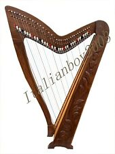 More details for clearance price 36 string rosewood celtic irish lever harp