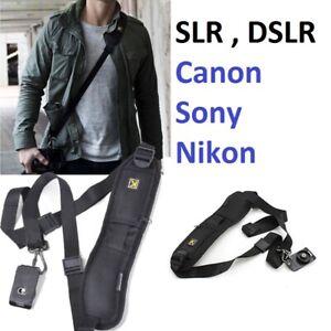Quick Camera Sling Single Shoulder Belt Strap DSLR SLR Cameras Canon Sony Nikon