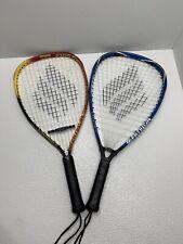 2 Ektelon Racquetball Racquets Longbody & Invader Ti Pair Lot 915 925