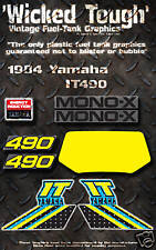 YAMAHA 1984 IT490 WICKED TOUGH DECAL GRAPHIC KIT