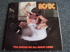 AC/DC-You Shook Me All Night Long 7 PS-foldout COVER-Made in UK