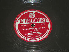 ROMO VINCENT & DAVID MILLER I'm The Little Guy In Jukebox UNITED ARTIST EN 301