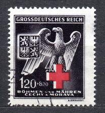 Germany / Bohmen und Mahren - 1943 Red Cross Mi. 132 FU