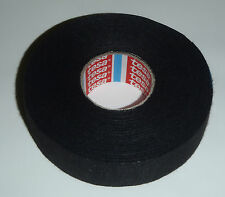 TESA 5x ORIGINAL ADHESIVE CLOTH TAPE FABRIC WIRING LOOM AUTOMOTIVE 25MM X 25M