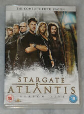 Stargate Atlantis Stagione 5 Five Completo Set DVD - UK + BONUS DISCHI