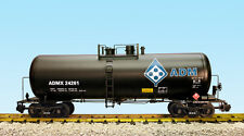 USA Trains G Scale 42 Foot Modern Tank Car R15264  ADM - Black