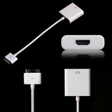 1080P Dock Connector to HDMI Adapter connection for iPad 2 3 4 iPhone 4 4S ipad2