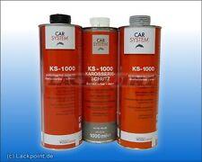 10 x 1L TOP Carrocería Bajo protección del Suelo Negro ks-1000 carsystem GP / L