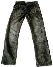 kenzarro negro / PLATA Star VIP Clubwear Vaqueros G.28/34
