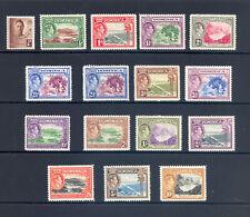 DOMINICA SG 99-109 1938 GVI  DEFINITIVE SET M/M