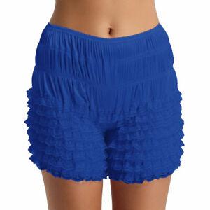 Woman Ruffle Bloomers Booty Shorts Pettipant Pumpkin Shorts Underwear Pajamas